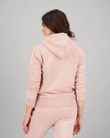 Women's Rose Hoodie -  pink