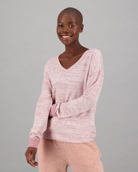 Women's Echo Long Sleeve T-Shirt -  rust