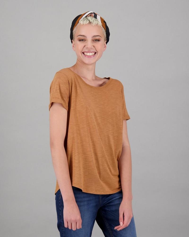 Women's Lyric T-Shirt -  camel