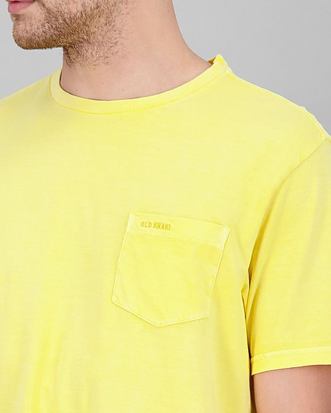 Men's Bandile Relaxed Fit T-Shirt -  yellow
