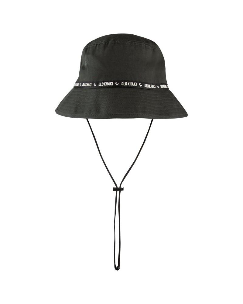Men's Boonie Bucket Hat -  olive-green