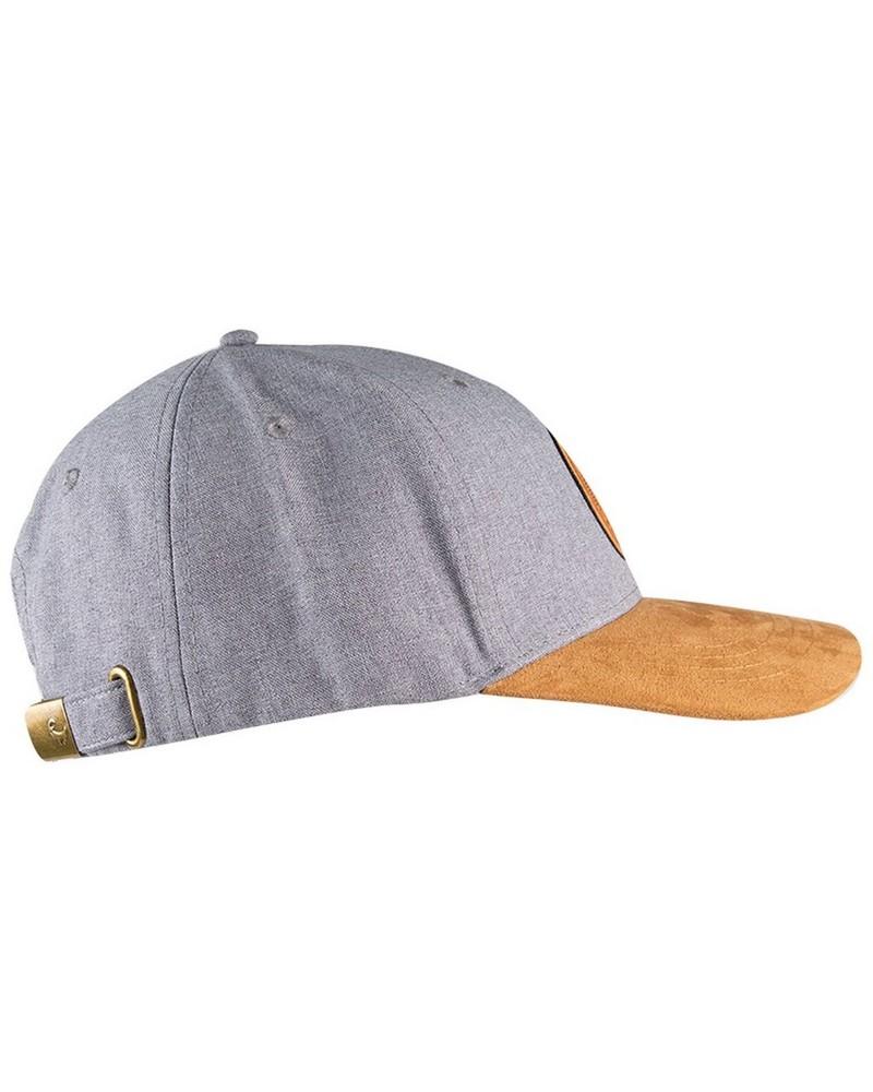 Men's Baker Cap -  grey-brown