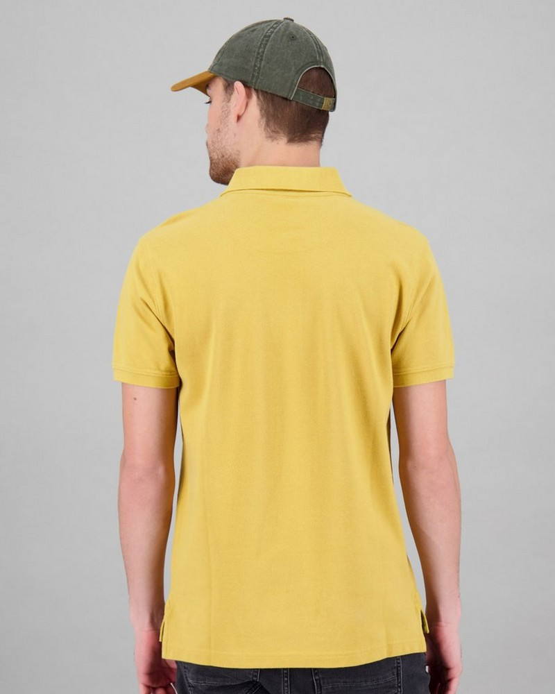 Men's Alex Standard Fit Golfer -  yellow