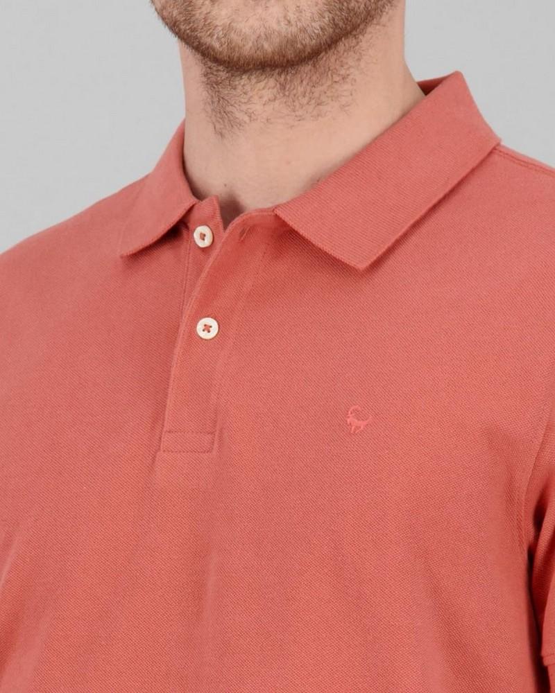 Men's Alex Standard Fit Golfer -  orange