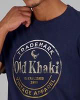 Men's Ekon Standard Fit T-Shirt -  navy