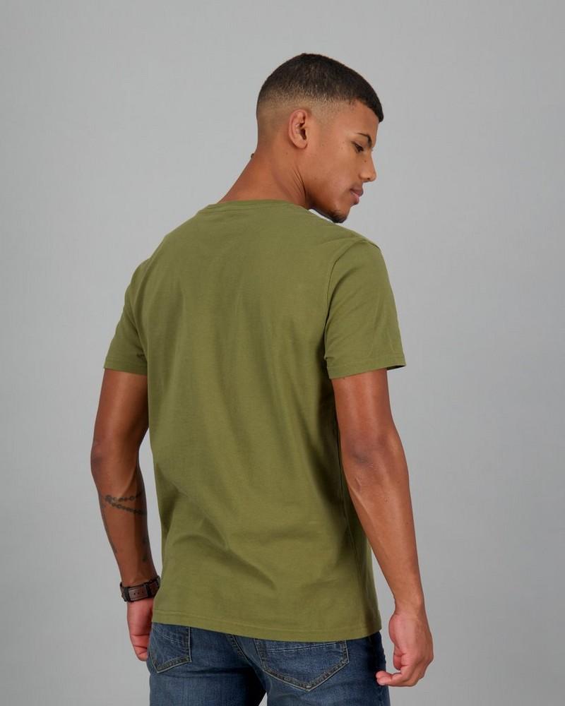 Men's Sebastian Standard Fit T-Shirt -  olive