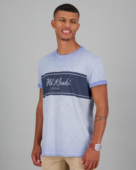 Men's Owen Relaxed Fit T-Shirt -  lightblue