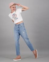Women's Coley Relaxed Denim -  midblue