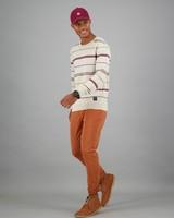 Men's Kiro Skinny Leg Chinos -  orange
