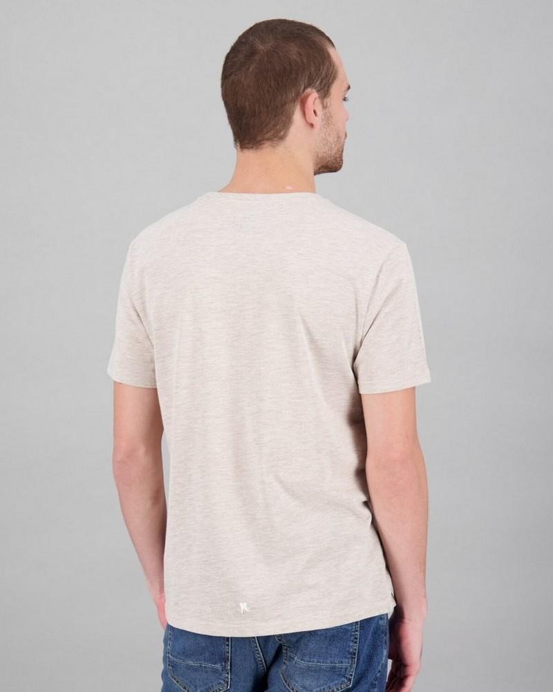 Men's Micah Standard Fit T-Shirt -  oatmeal