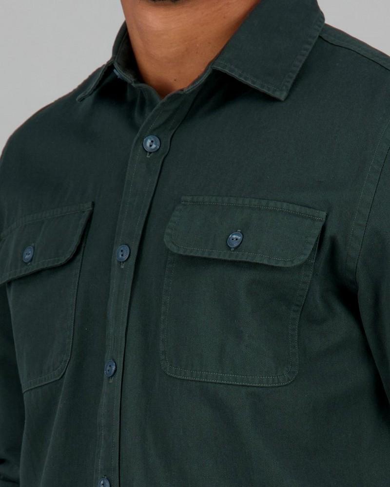 Men's Fonzo Regular Fit Shaket -  sage