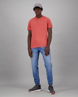 Men's Axel Relaxed Fit T-Shirt -  coral