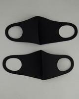 2-Pack Neoprene Groat Masks -  black