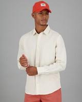 Men's Dustin Linen Slim Fit Shirt -  stone