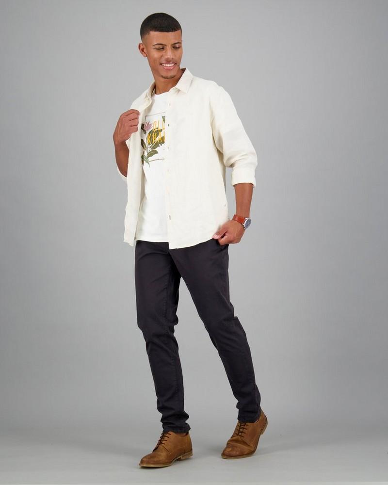 Men's Asher Standard Fit T-Shirt -  milk