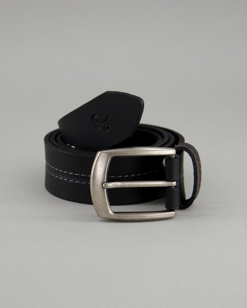 Men's Beckham Leather Belt -  black