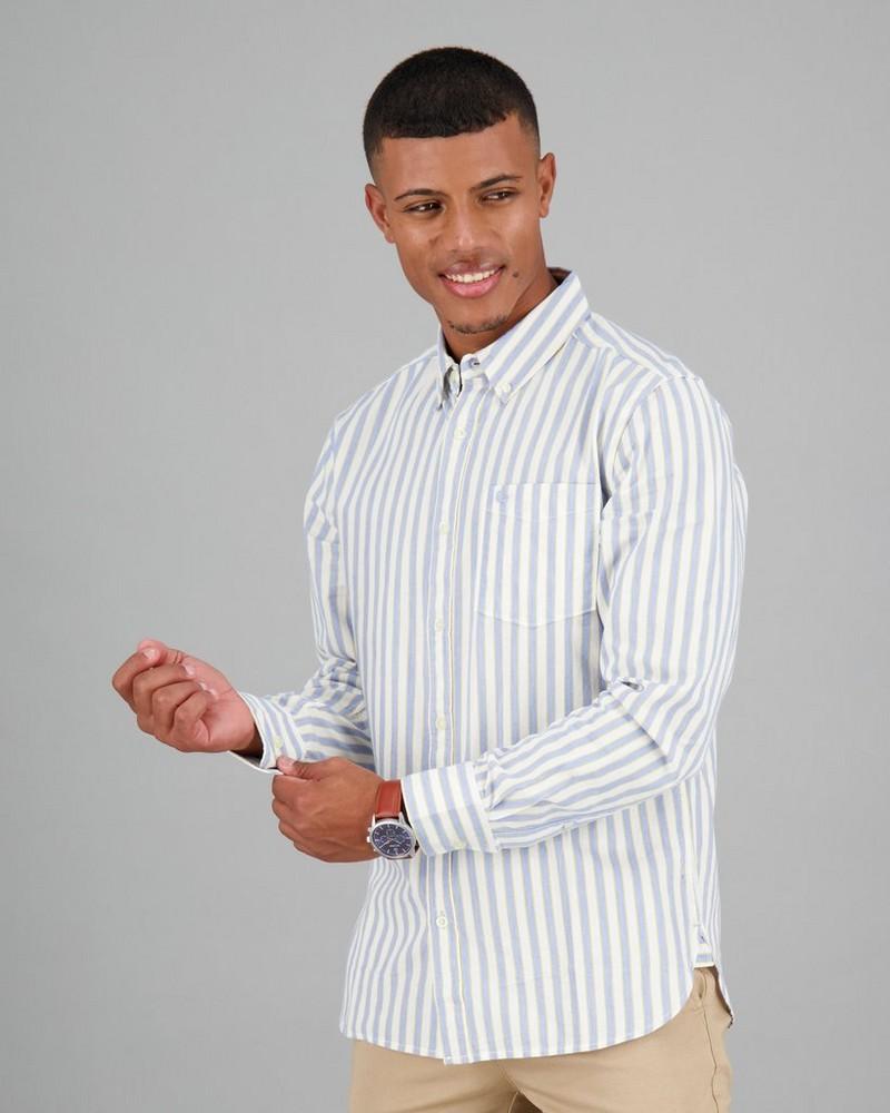 Men's Larry Slim Fit Shirt -  blue