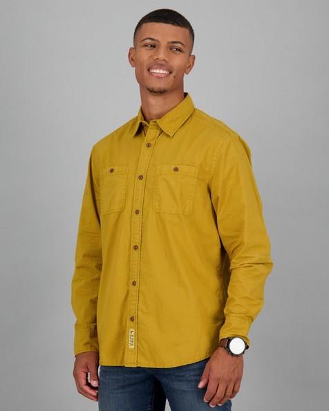 Men's Chief Regular Fit Shirt -  ochre