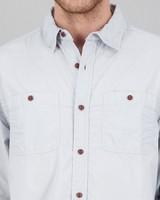 Men's Chief Regular Fit Shirt -  blue