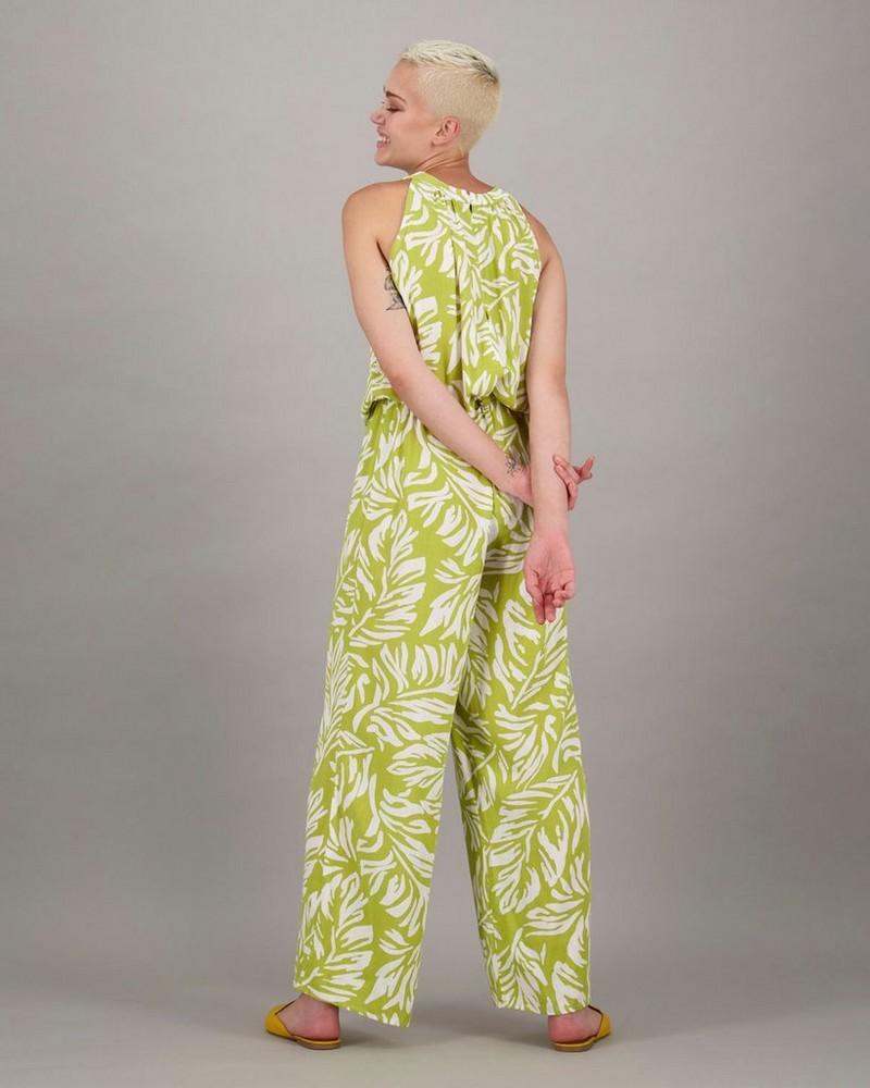 Women's Maya Jumpsuit -  lightgreen