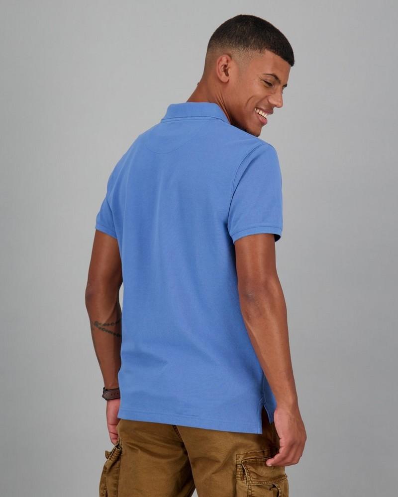 Men's Alex Standard Fit Golfer -  blue