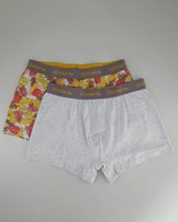 Men's 2-Pack Tropical Underwear -  stone-rust