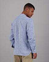 Men's Gavin Slim Fit Shirt -  blue