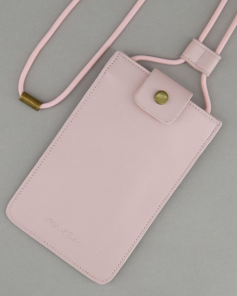 Shea Phone Pouch -  pink
