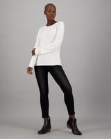 Women's Stormi Long Sleeve T-Shirt -  milk