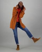 Women's Nadya Parka Jacket -  rust