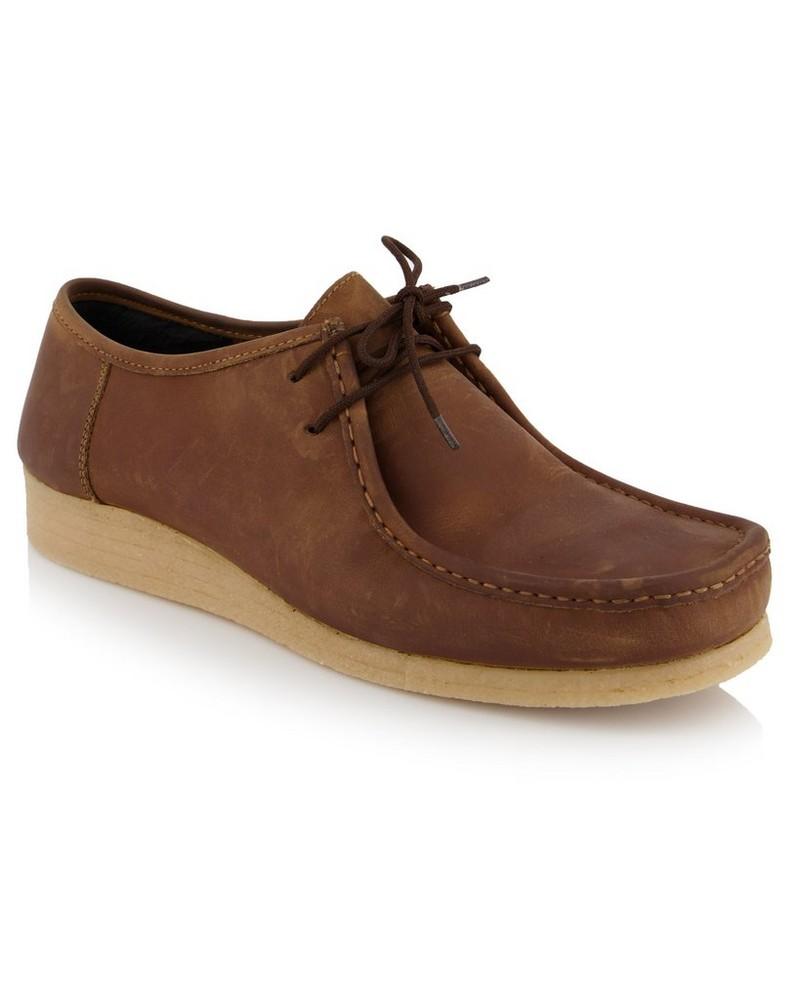 Men's Jedd Wallabee Shoe -  brown