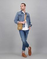 Men's Wihan Denim Jacket -  midblue