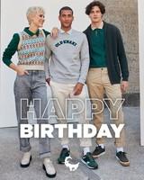 Gift Card - Happy Birthday -