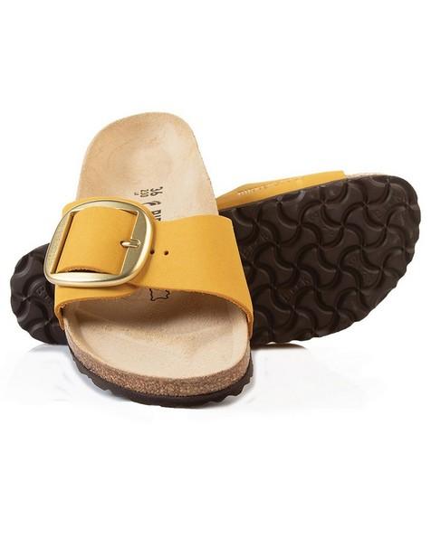 Birkenstock Madrid Ladies Big Buckle Sandal -  ochre