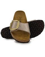 Birkenstock Madrid Big Buckle Sandal -  taupe