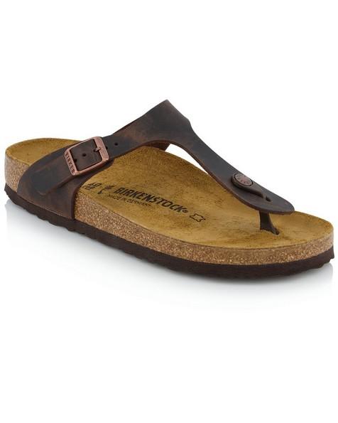 Birkenstock Gizeh Sandal -  brown