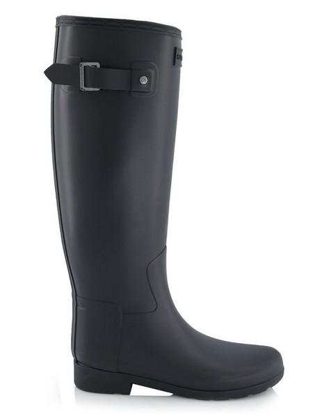 Hunter Refined Tall Boot Ladies -  black