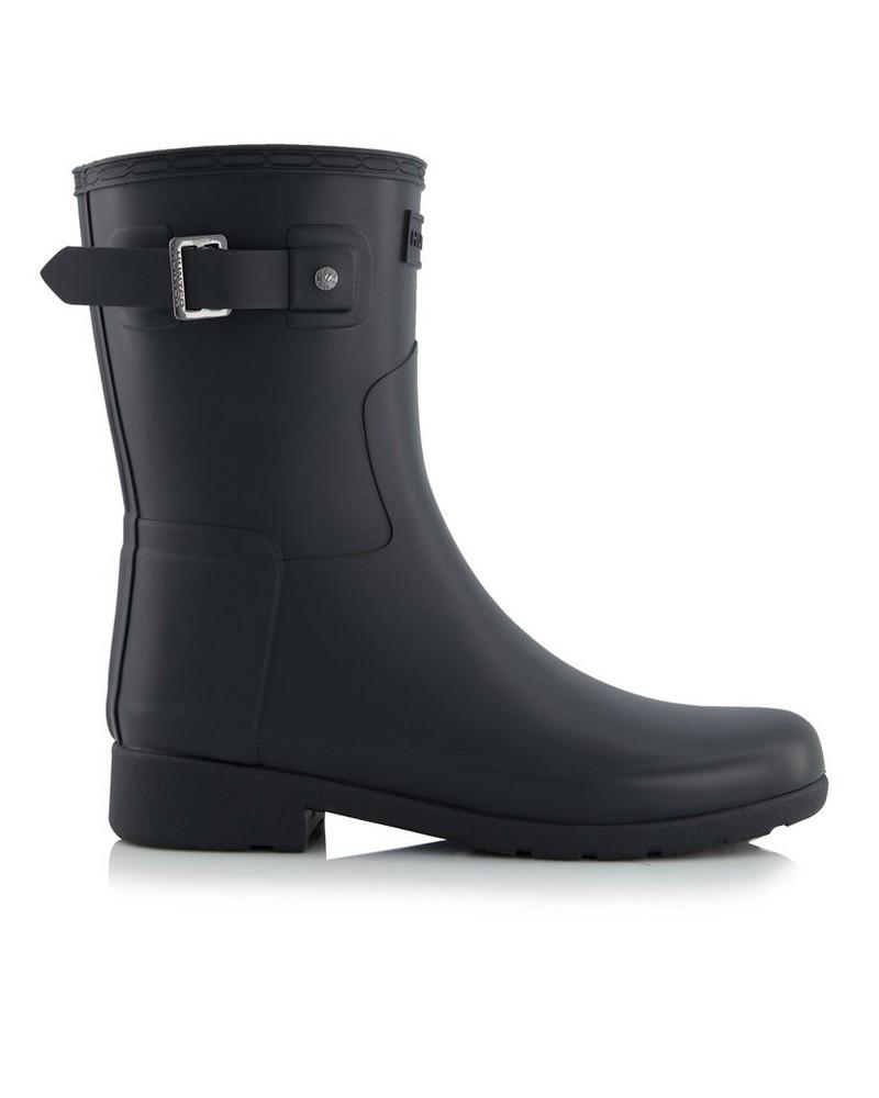 Hunter Refined Short Boot Ladies -  black