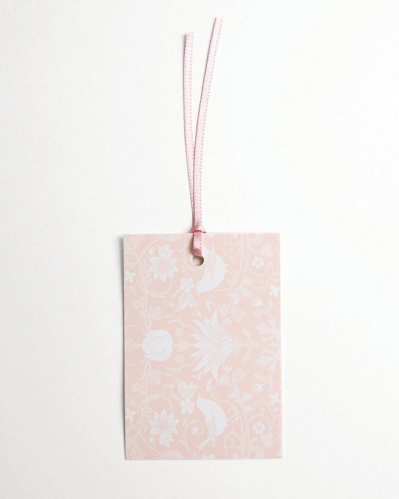 Blush Chintz Tag -  pink