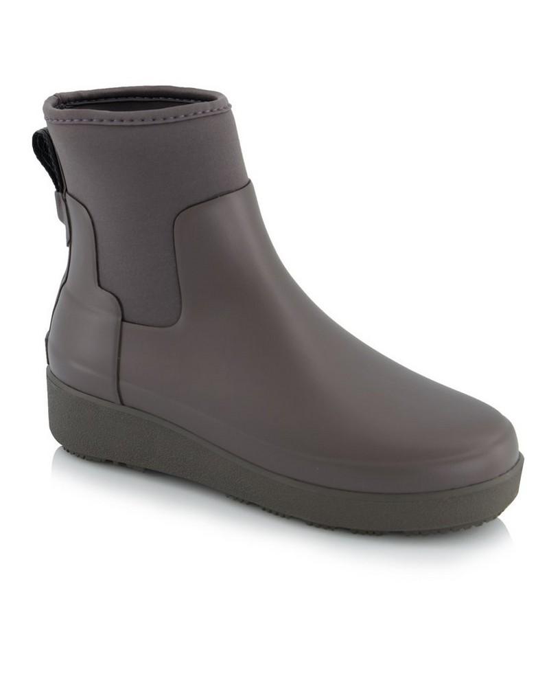 Hunter Refined Creeper Neo Chelsea Boot Ladies -  brown