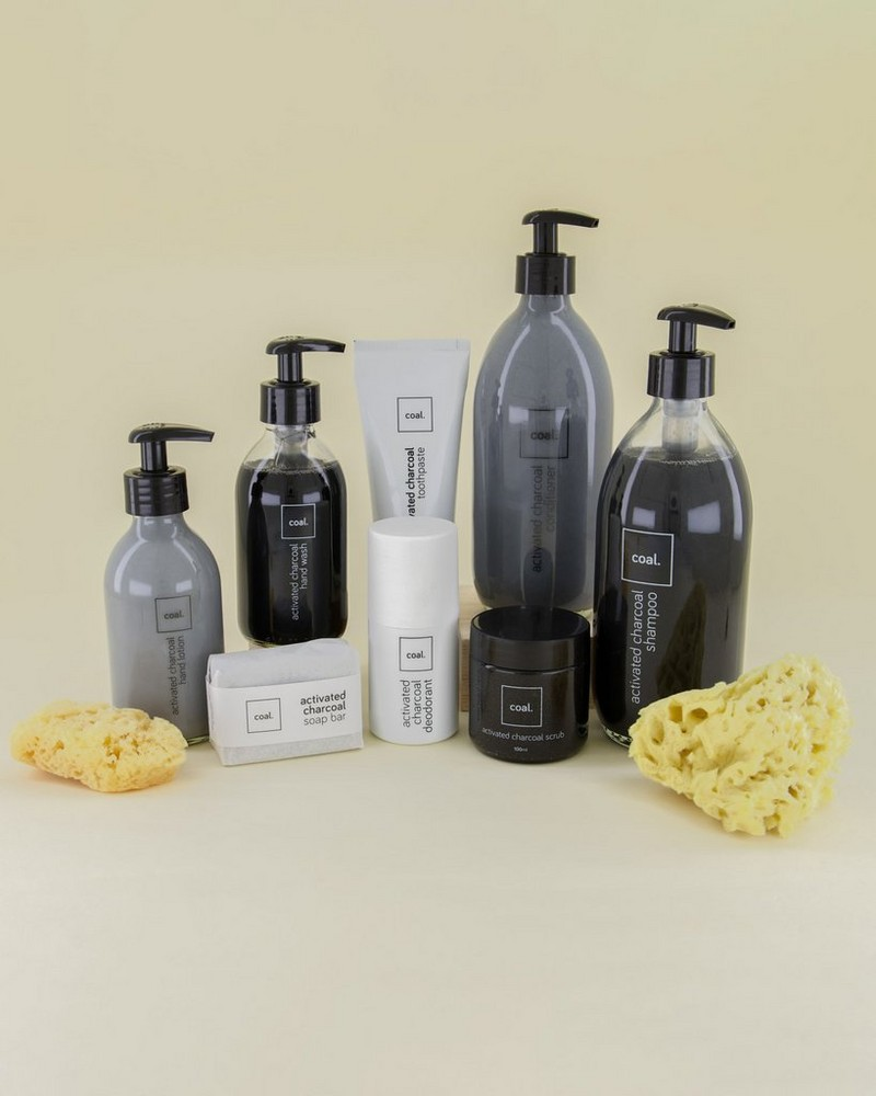 Coal Activated Charcoal Deodorant -  black