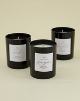 Neroli Soy Beauty Candle -  black