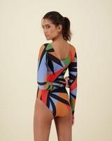 Lola Long Sleeve Swimsuit -  assorted