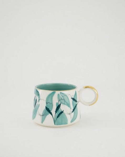 Floral Mug -  sage