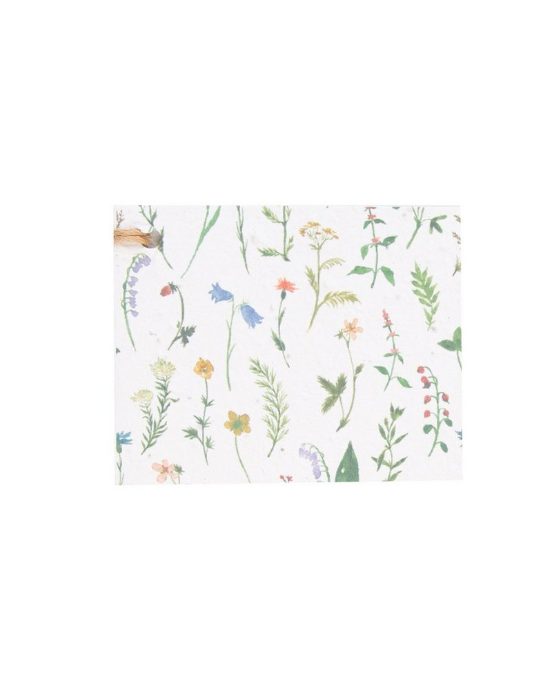 Wild Flowers Tag -  assorted