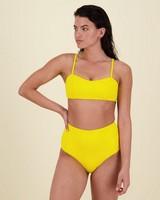Faith Bikini Top -  yellow