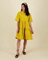 Inez Dress -  yellow