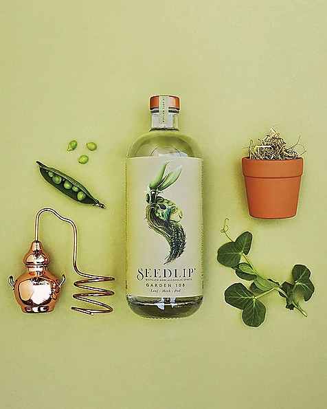 Seedlip Garden Non-Alcoholic Spirit -  assorted