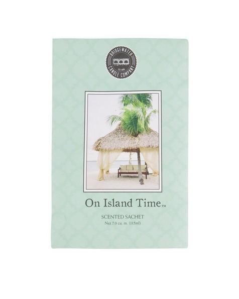 On Island Time Fragrance Sachet -  assorted