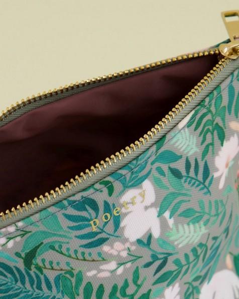 Esme Cosmetics Bag -  green
